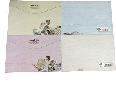 Pinnacle Postcard Series Paper File Bags