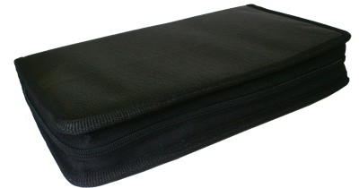 De BlueMix PU Leather CD DVD Carry Bag/ Case / Folder / Pouch For 80 CD/DVD