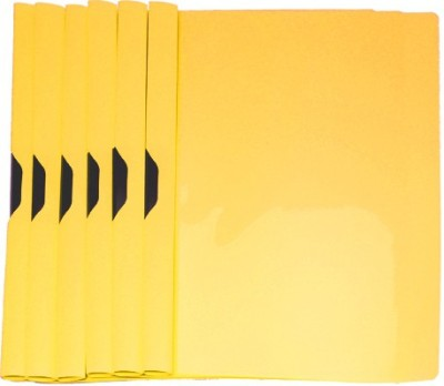 Easyhome Plastic Yellow Color 6 pcs Report Files Folders