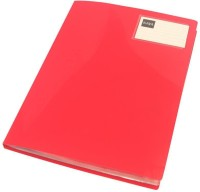 Saya Office Series Polypropylene Display Book(Set Of 1, Red)