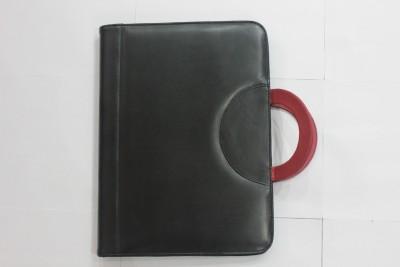 Fuchsiafloral Elite Executive Folder Leatherite Leather