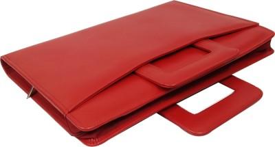 Essart PU Leather Handle Folder with Zipp Closure