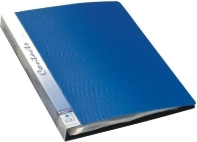 Worldone Polypropylene Business Card Holder(Blue)