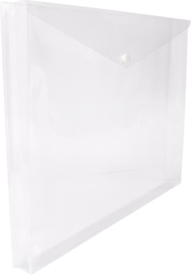 DataKing Polypropylene Expanding My Clear Bag, Size FC, Set of 12, Color: Natural.