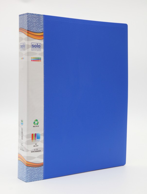Solo Ring Binder(Set Of 2, Blue)
