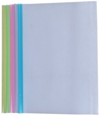 SIDHIVINAYAK ENTERPRISES Plastic Stick File Thick Broad Patti A4