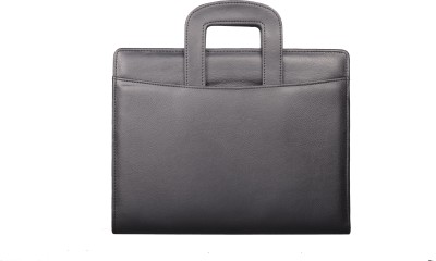 Coi Leatherite Briefcase Conference Folder / Document Folder With Calculator , Pen And Writing Pad