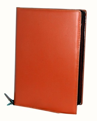 MagPie Faux Leather Conference Folder (Brown)