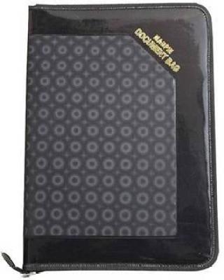 Aahum Sales Faux Leather Executive Series Document Bag File Folder