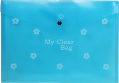 MY CLEAR BAG POLYPROPYLENE TRANSPARENT FOLDER