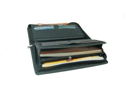 Essart Travel Kit PU Leather Cheque Book Holder