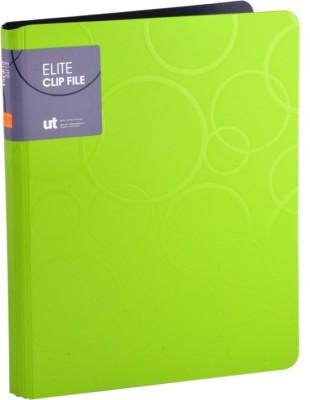 Callas Polypropylene Elite Clip File