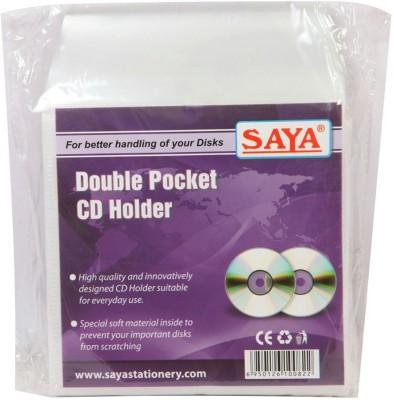 Saya Office Series Polypropylene Clear Holders