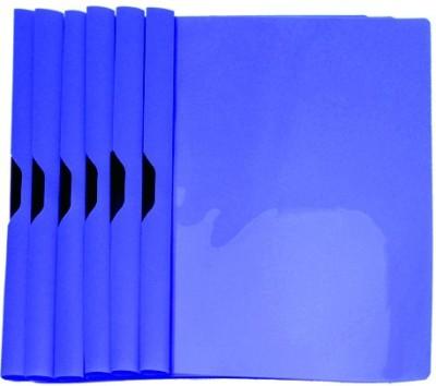 Easyhome Plastic Dark Blue Colors 6 Pcs Clipon Report Files