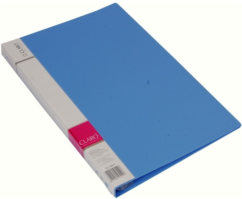Claro Display Book(Blue)