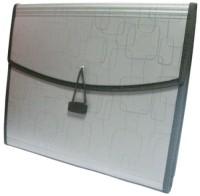 Solo Magic Square Portfolio(Metallic Grey)
