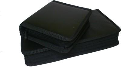 De BlueMix Combo set of 80 + 40 CD,S DVD Disk Wallet PU Leather Storage Pouch