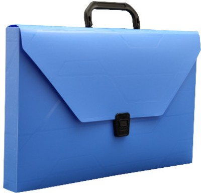 Solo Document Case(Set Of 2, Blue)
