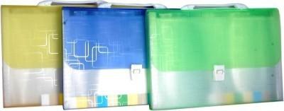 Aahum Sales Polypropylene Expanding File Folder (set of 3)