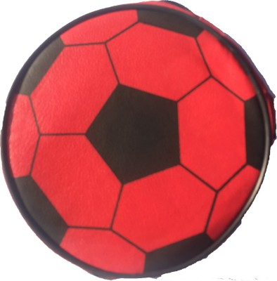 Ezzcase Football Plastic Rollover Show File(Set Of 1, Black, Red)
