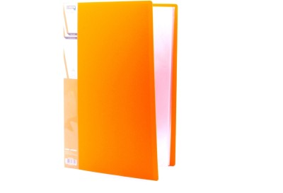 Chrome Files & Folders Plastic Display Book