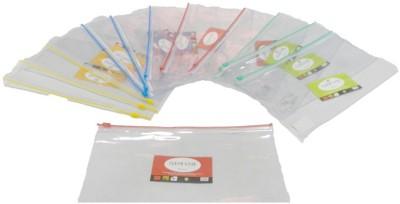 Y.E.S PVC Transparent Zipper Pouch