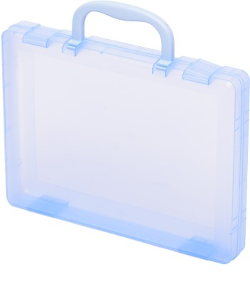 Chrome Plastic PP Briefcase