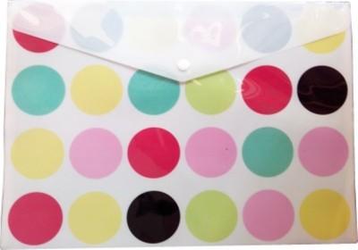 Hariom Enterprises Plastic Plastic File(Set Of 10, Multicolor)