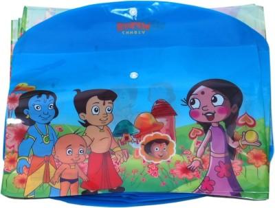 Aahum Sales Polypropylene Chotta Bheem My Clear Bag Set of 12
