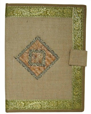 Saffron Craft Office Jute Document Holder(Set Of 1, Beige)