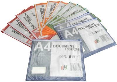 Y.E.S PVC Document Zipper Pouch
