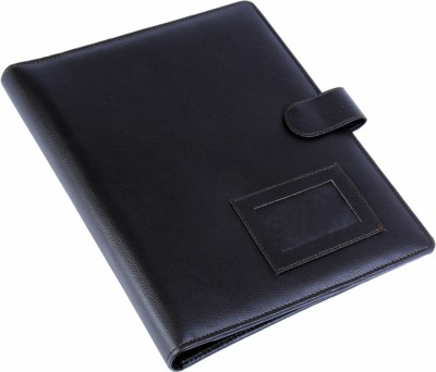Coi Faux Leather Conference Folder With Front Pocket A4