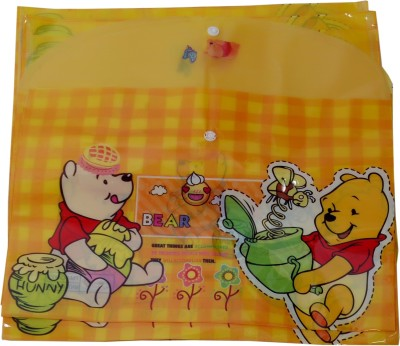Ananda sales Polypropylene Bear My Clear Bag Set of 12