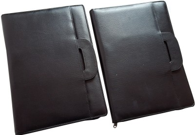 Renown Faux Leather Leather Conference File Folders