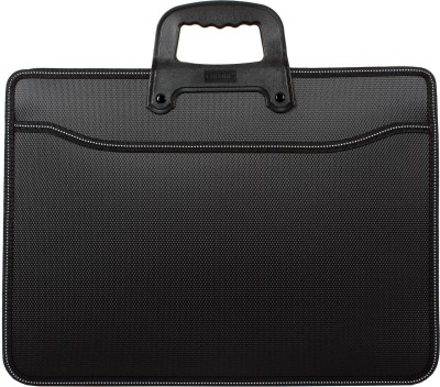 Chrome Polypropylene Document File Bag