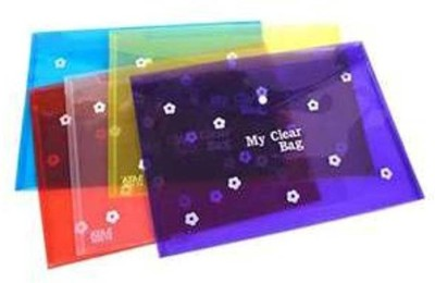 Aahum Sales Polypropylene My clear Bag set of 10