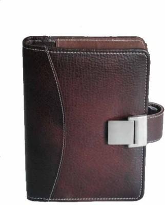 Milano Organizer Planner Cum Diary Leather Ring Binder