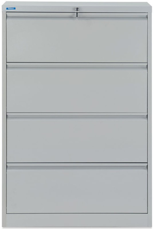 Nilkamal Retro Metal Vertical Filing Cabinet(Finish Color - Grey)