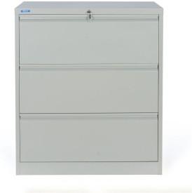 Nilkamal Retro Metal Vertical Filing Cabinet(Finish Color - Grey)