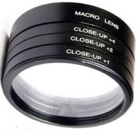 Numex Numex 55mm Deluxe Close Up Lens Filter Kit +1 +2 +4 +10 +20 Macro 4 Sony Alpha 18-55mm Close-up Filter