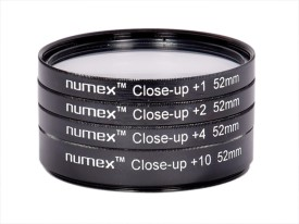 Numex close up lens kit +1 +2 +4 +10 macro 4 D3000 D3200 18-55MM D40 Close-up Filter