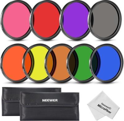 Neewer Complete Lens Set Color Effect Filter(58 mm) at flipkart