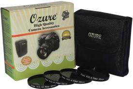 ozure ND Filter kit 62mm Set of 4pc ND Filter(62 mm)