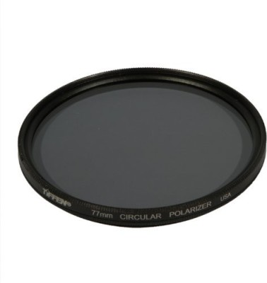Tiffen 77Mm Circular Polarizer Polarizing Filter (CPL)(77 mm) at flipkart