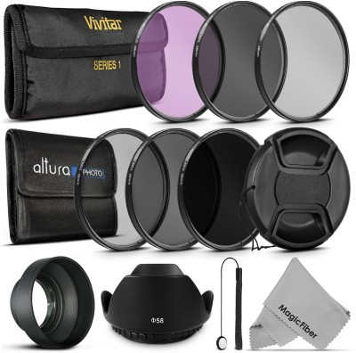 Goja 58Mm Must Have Lens Filter Accessory Kit For Canon Polarizing Filter (CPL)(58 mm) at flipkart