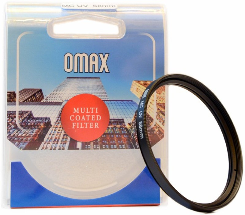 Omax 58mm Multi-Coated UV For Canon EF-S 18-55mm IS II Lens UV Filter 58mm Multi-Coated UV For Canon EF-S 18-55mm IS II Lens