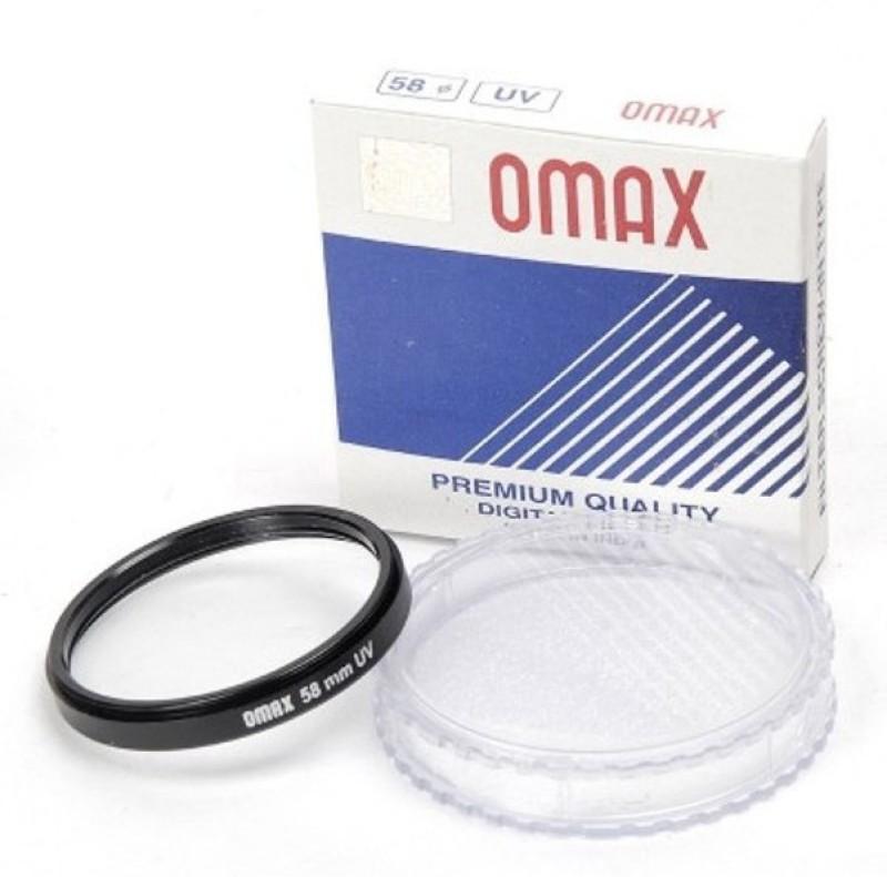 Omax 58mm set of 2 UV Filter 58mm set of 2