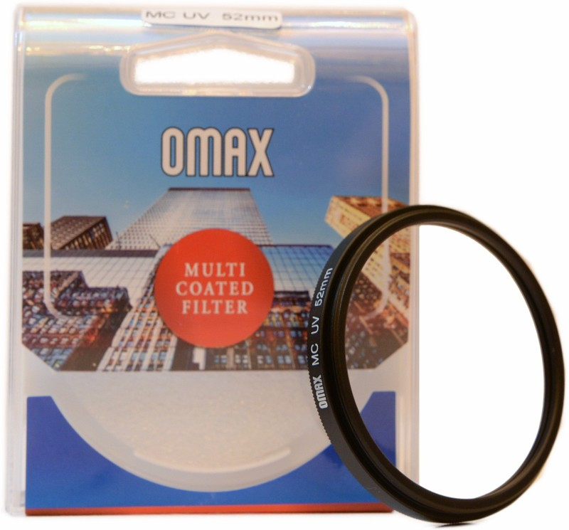 Omax 52mm Multi-Coated UV For NIKKOR 18-55mm VR Lens UV Filter 52mm Multi-Coated UV For NIKKOR 18-55mm VR Lens