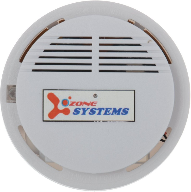 OZONE SYSTEMS OZ-04 BATTERY OPERATED STANDALONE WIRELESS PHOTOELECTRIC FIRE SENSOR DETECTOR SIREN ALERT WARNING WITH 6 MONTHS WARRANTY Smoke Alarm(Ceiling Mounted)