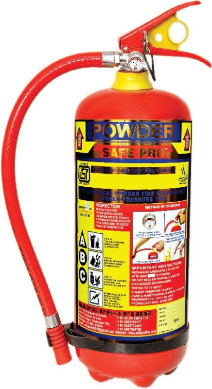 Safe pro ABC 4Kgs Fire Extinguisher Mount(4 kg)